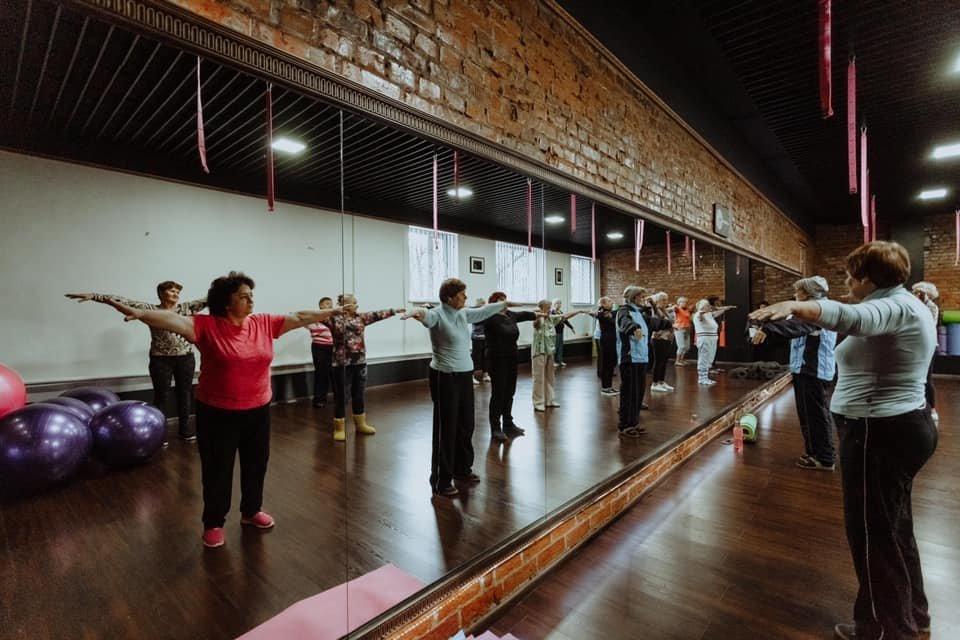 Вік - не вирок: у Дубні літні люди займаються фітнесом (ФОТО), фото-5