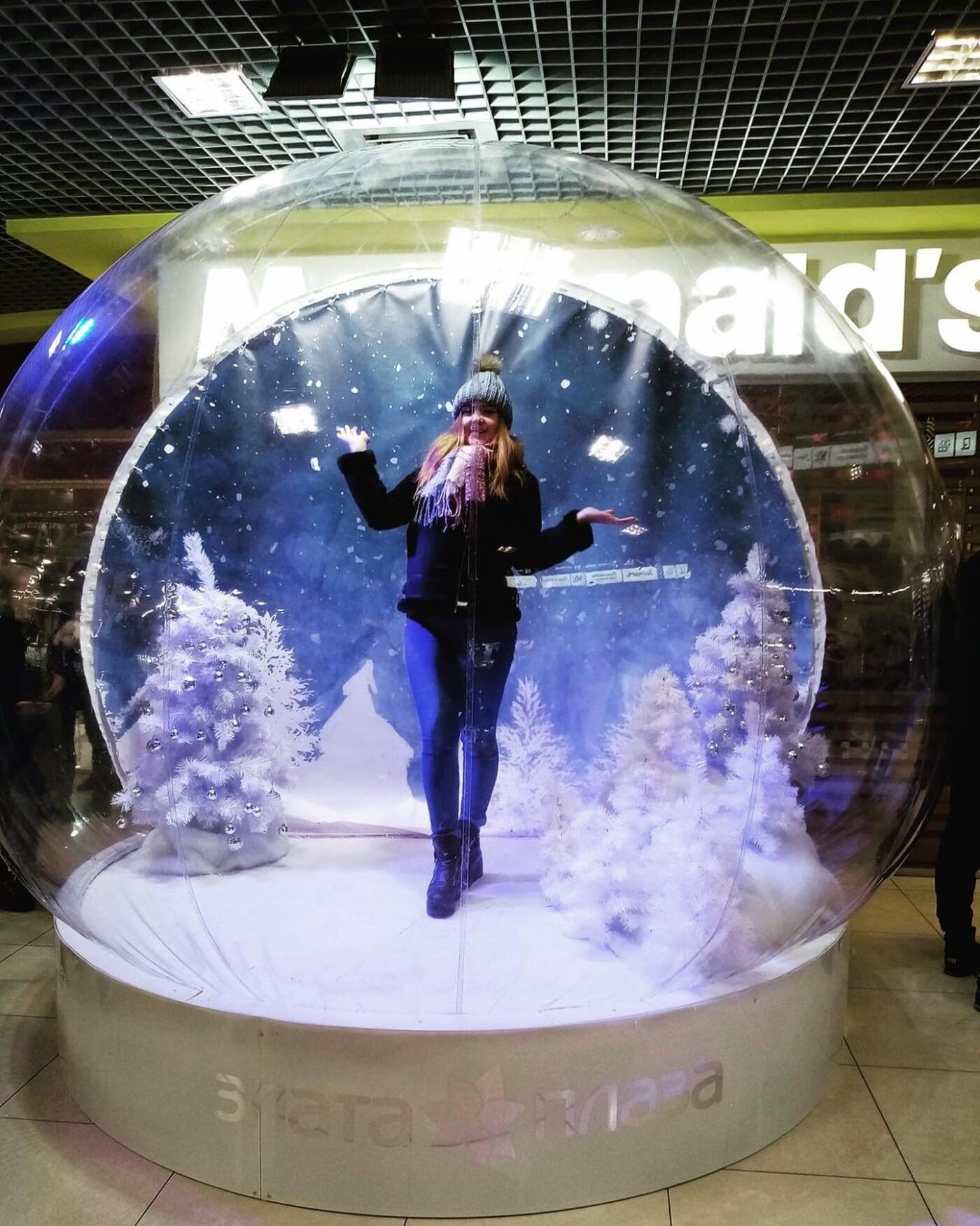 У Рівному з'явилася різдвяно-новорічна фотозона (ФОТО) , фото-1