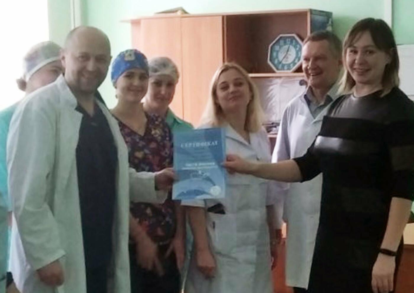 Відділення хірургії у Здолбунівській ЦРЛ визнали найчистішим (ФОТО), фото-1