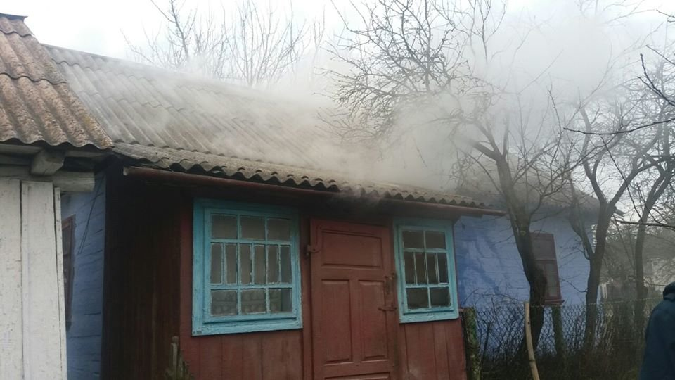 На Рівненщині знову сталася пожежа у будинку (ФОТО), фото-1