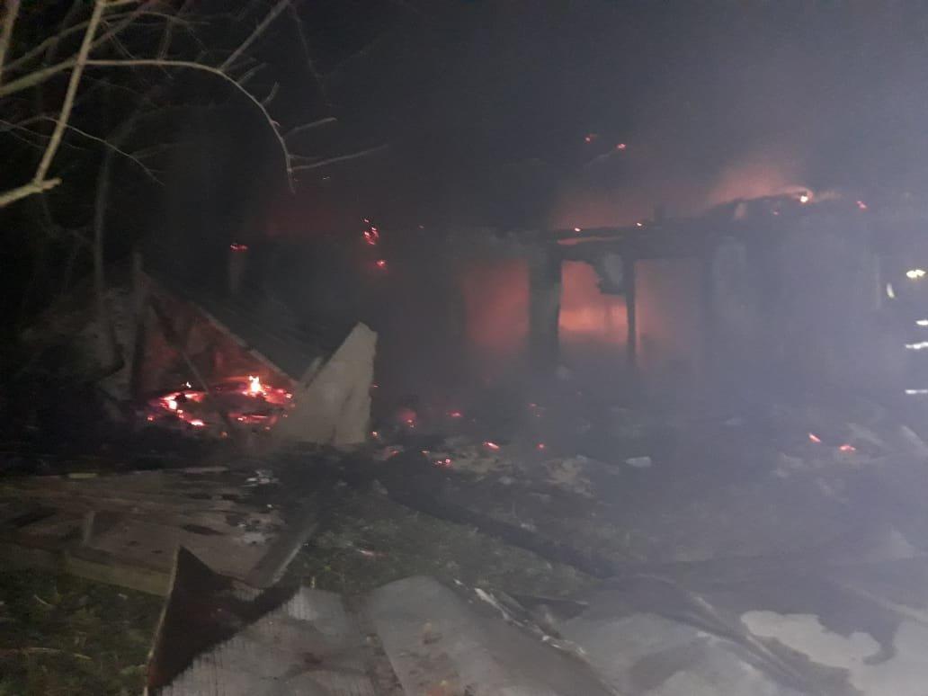 На Дубенщині згорів дерев'яний будинок (ФОТО), фото-4