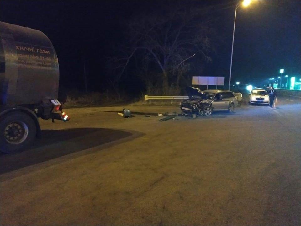 На Гощанщині ДТП: легковик зіткнувся з вантажівкою (ФОТО), фото-3
