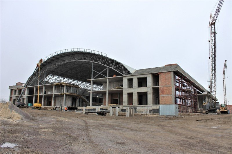 Як проходить будівництво спорткомплексу на Макарова, з'ясовувала заступниця голови РОДА, фото-6