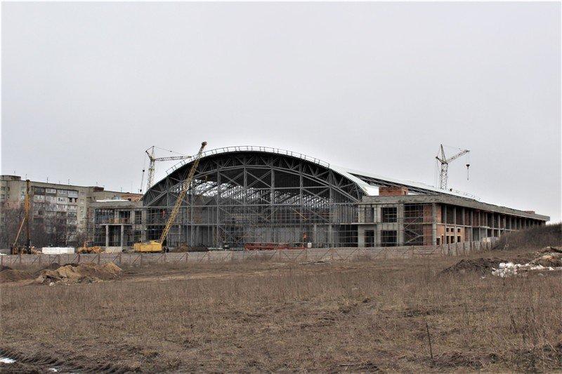 Як проходить будівництво спорткомплексу на Макарова, з'ясовувала заступниця голови РОДА, фото-1