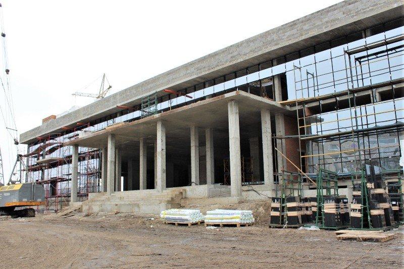 Як проходить будівництво спорткомплексу на Макарова, з'ясовувала заступниця голови РОДА, фото-2