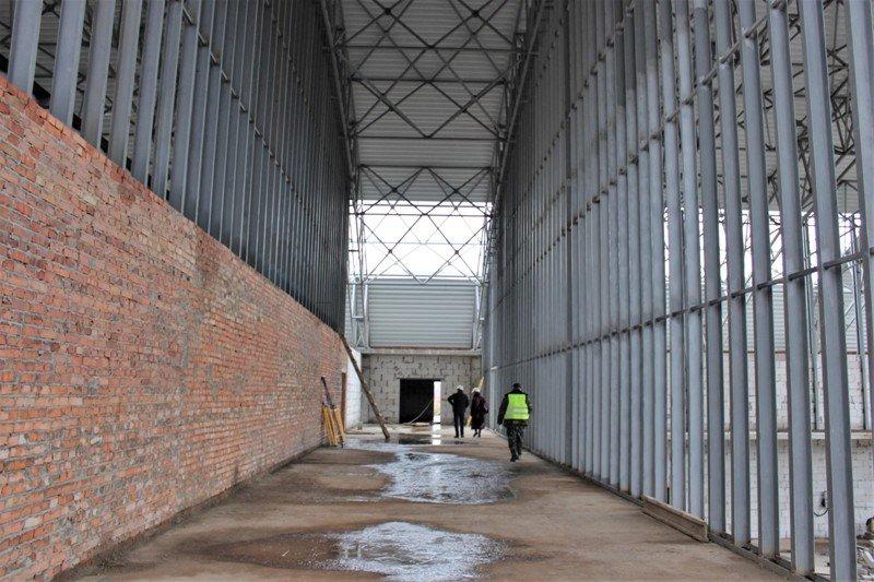 Як проходить будівництво спорткомплексу на Макарова, з'ясовувала заступниця голови РОДА, фото-5