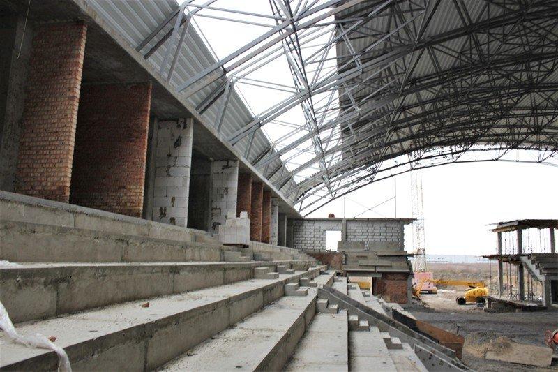 Як проходить будівництво спорткомплексу на Макарова, з'ясовувала заступниця голови РОДА, фото-4