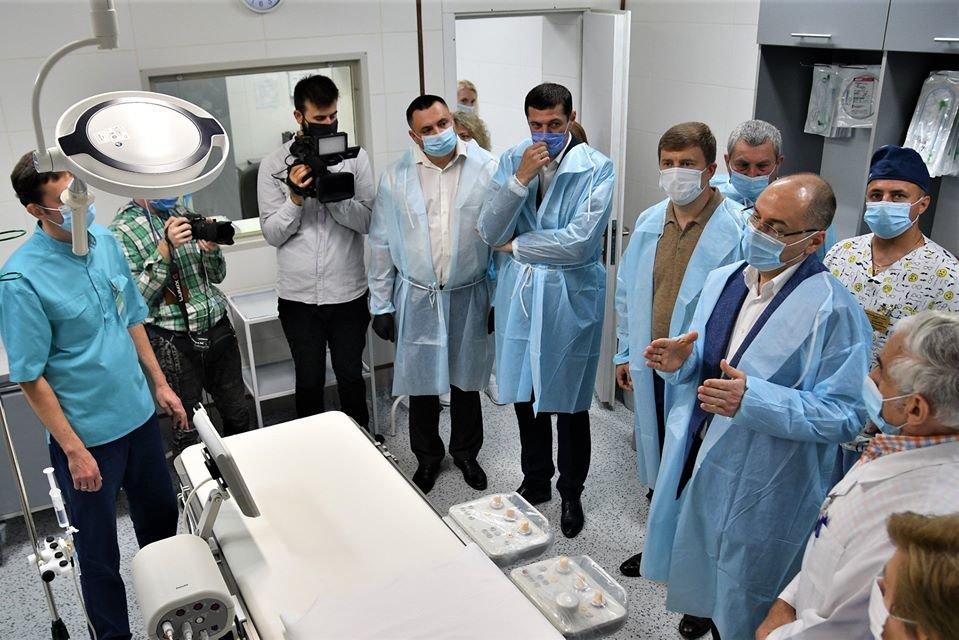 Міністр охорони здоров'я Максим Степанов відвідав Рівненщину, фото-1