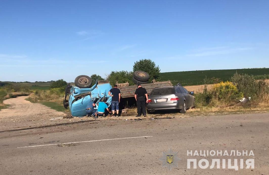 На Рівненщині легковик не пропустив вантажівку (ФОТО), фото-3