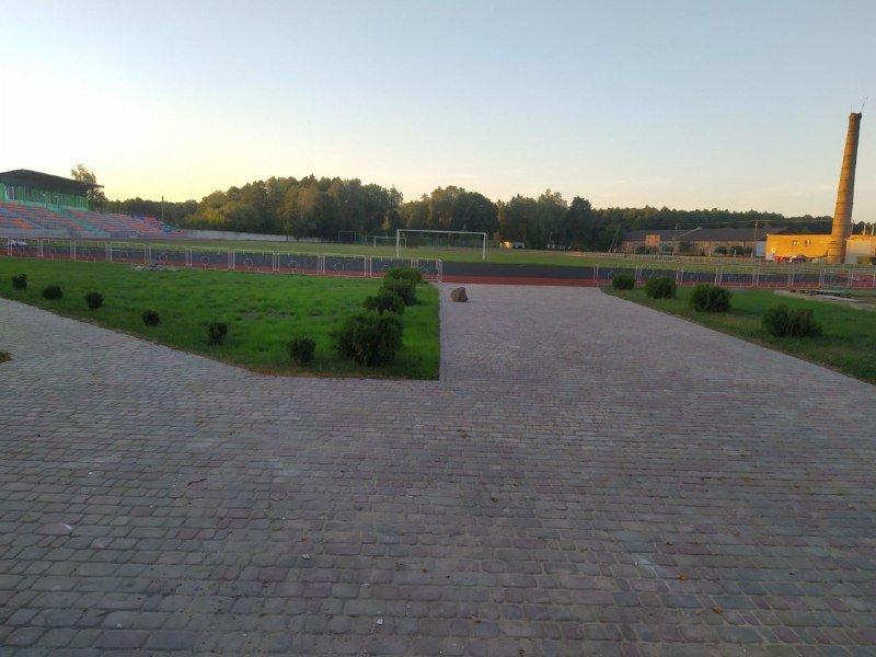 На Костопільщині триває реконструкція стадіону для легкоатлетів (ФОТО), фото-4