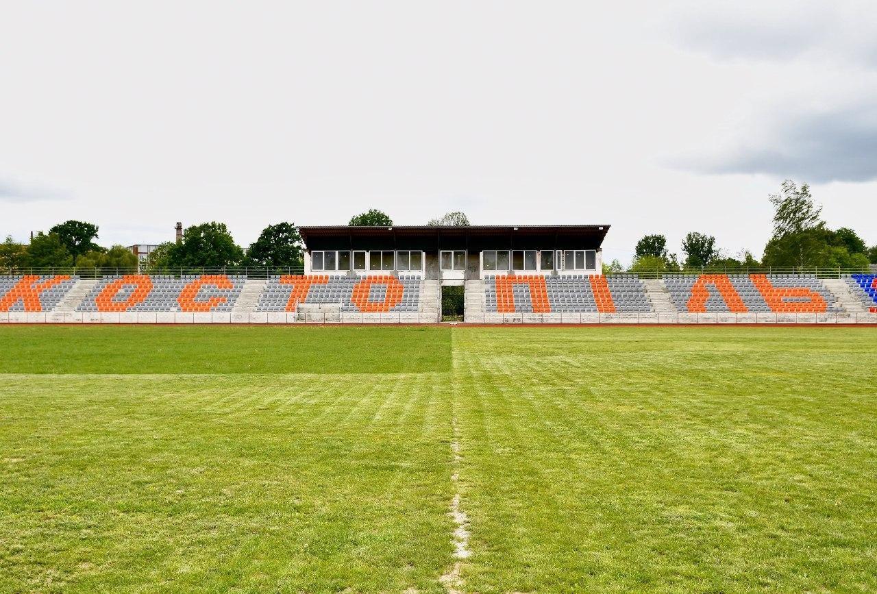 На Костопільщині триває реконструкція стадіону для легкоатлетів (ФОТО), фото-1
