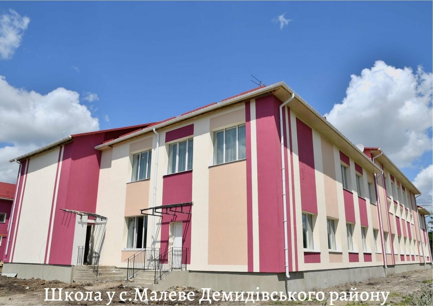 Понад тисяча дітей Рівненщини завтра підуть у нові школи та дитсадки, фото-4