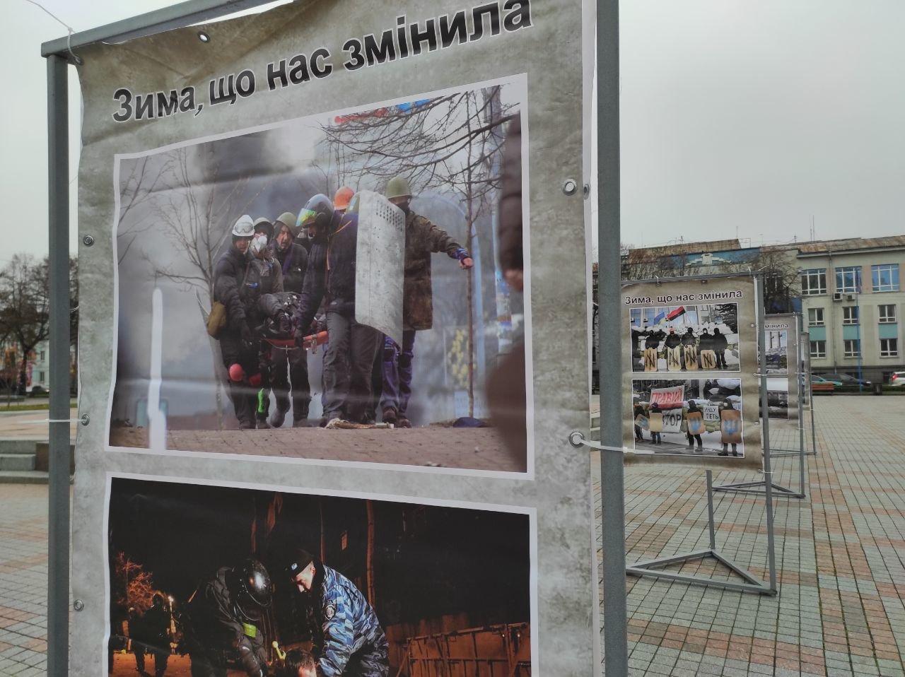 У Рівному вшанували пам'ять Героїв Небесної Сотні, фото-4