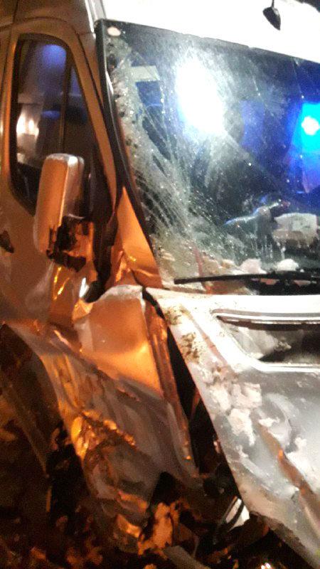 На автодорозі «Київ-Чоп» зіткнулися маршрутка та снігоочисна машина (ФОТО), фото-4