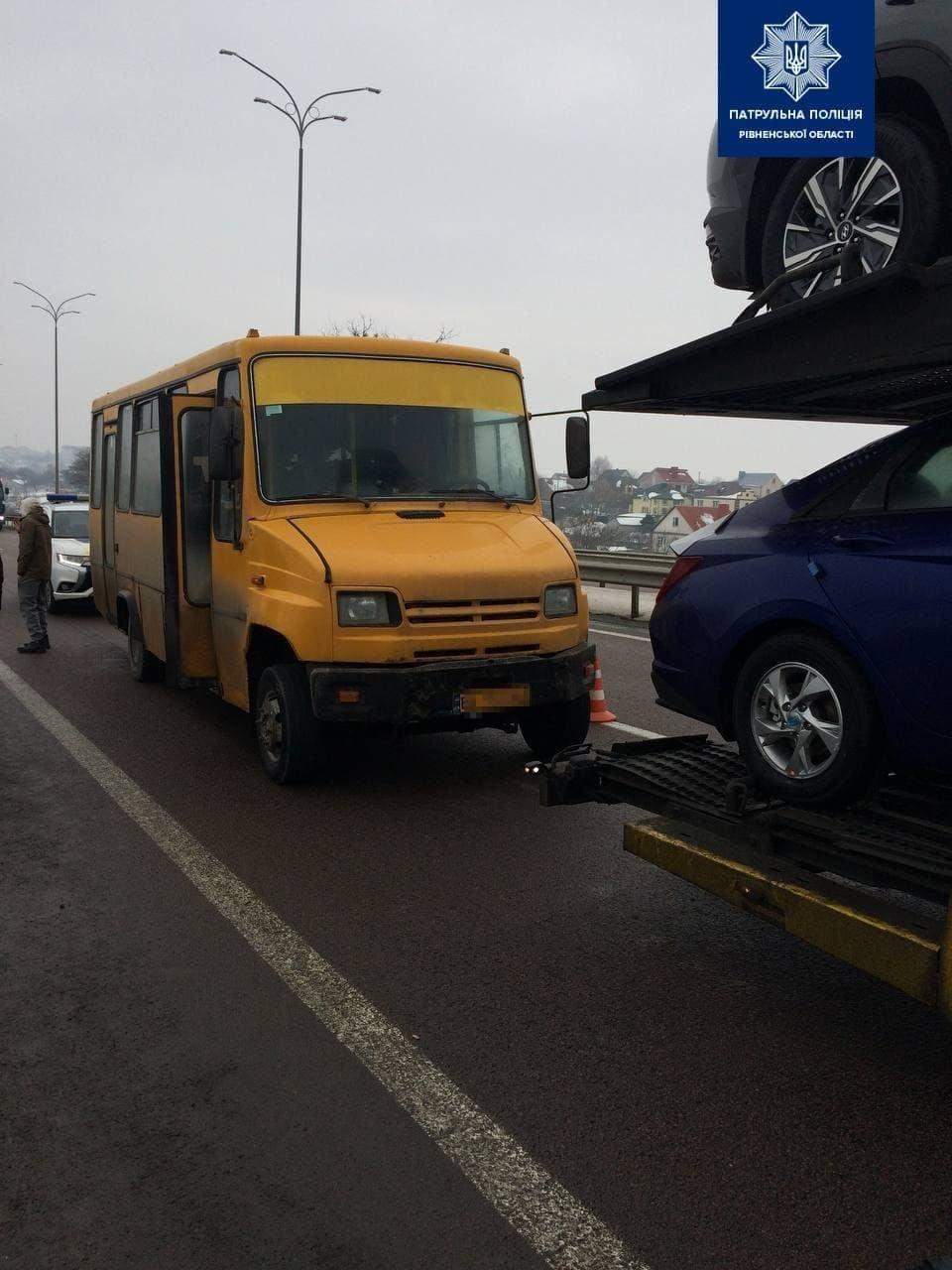 На трасі Київ-Чоп на Рівненщині сталася аварія (ФОТО), фото-1