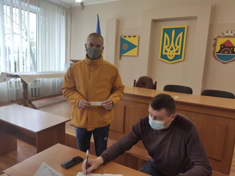 Понад сотня учасників АТО/ООС з сім'ями отримали земельні ділянки у Млинові, фото-4