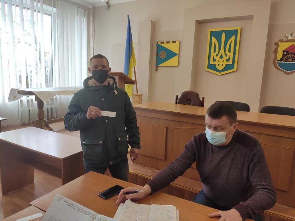 Понад сотня учасників АТО/ООС з сім'ями отримали земельні ділянки у Млинові, фото-6