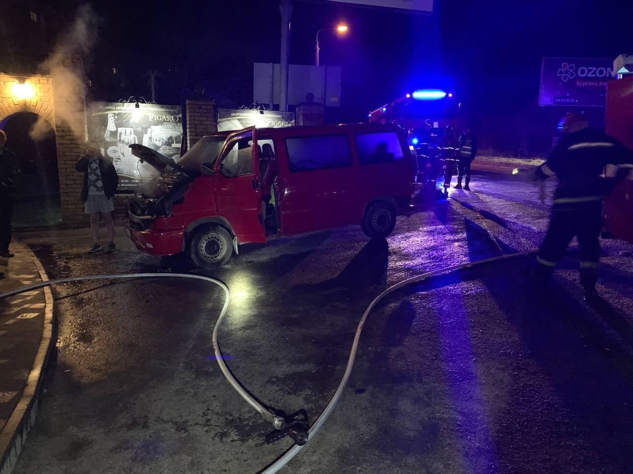 У Рівному загорілася автівка: як це сталось, фото-2