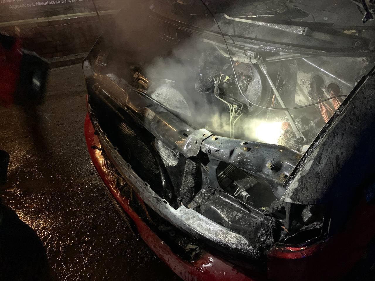 У Рівному загорілася автівка: як це сталось, фото-3