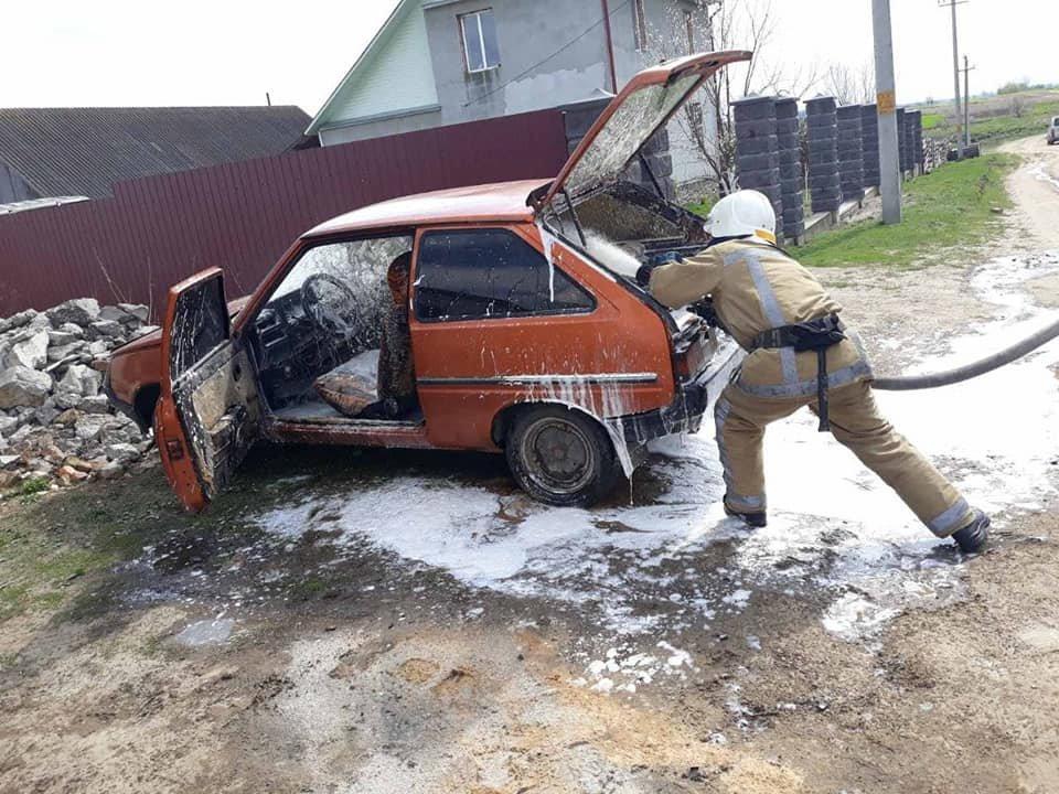 Знову пожежа і знову авто – цього разу на Острожчині (ФОТО), фото-2