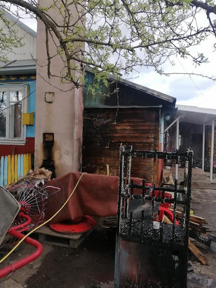 У селі в Рівненському районі спалахнув будинок (ФОТО), фото-2