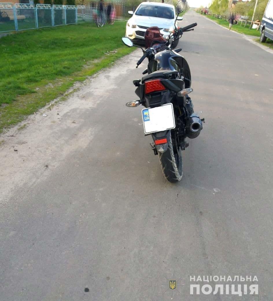 У Вараському районі під колеса мотоцикла потрапила трирічна дівчинка: її з численними травмами госпіталізували, фото-2