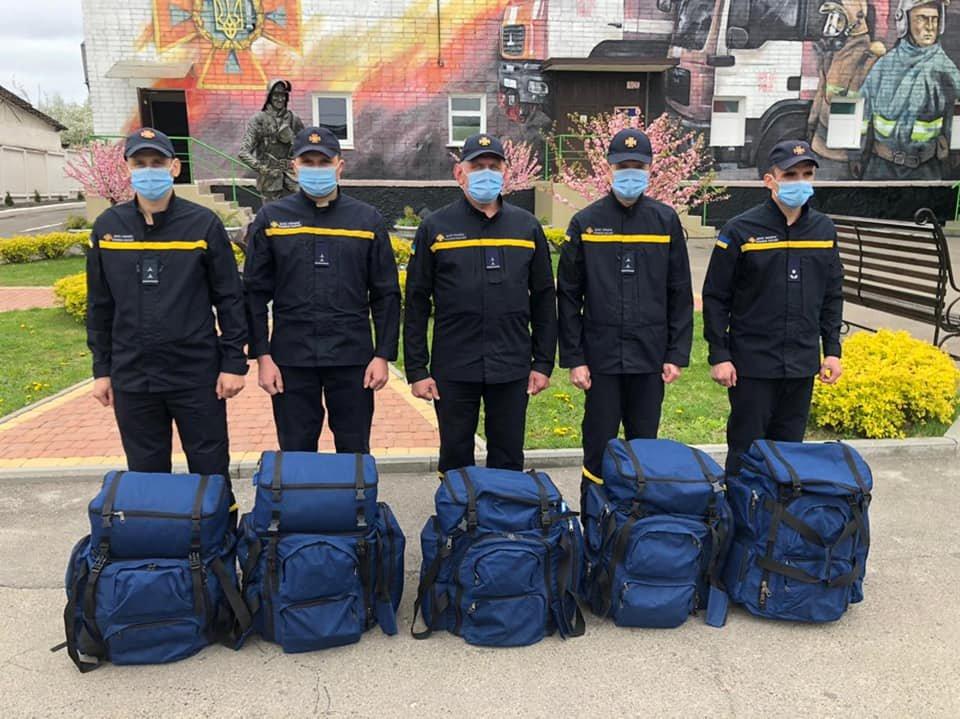 Рівненські піротехніки відправилися допомагати розміновувати Донбас, фото-1