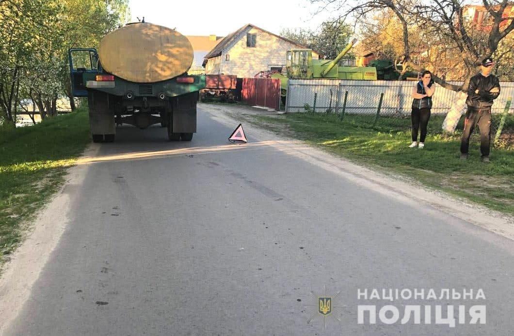 У Березному під колеса вантажівки потрапила дитина (ФОТО), фото-1