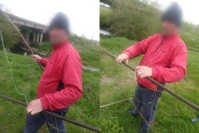 Майже кілометр сітки і не тільки: на Хрінницькому водосховищі рибохоронці упіймали мешканців, які ловили рибу забороненими знаряддями, фото-1