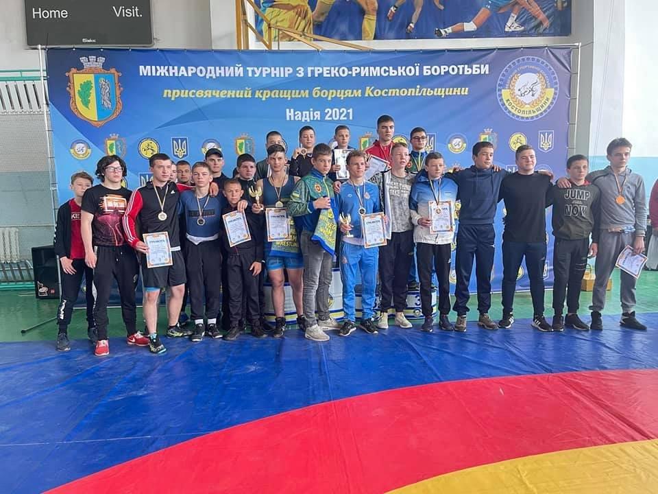Приїхали учасники з Польщі та Литви: у Костополі відбувся міжнародний турнір з греко-римської боротьби, фото-2