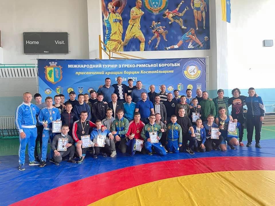 Приїхали учасники з Польщі та Литви: у Костополі відбувся міжнародний турнір з греко-римської боротьби, фото-1