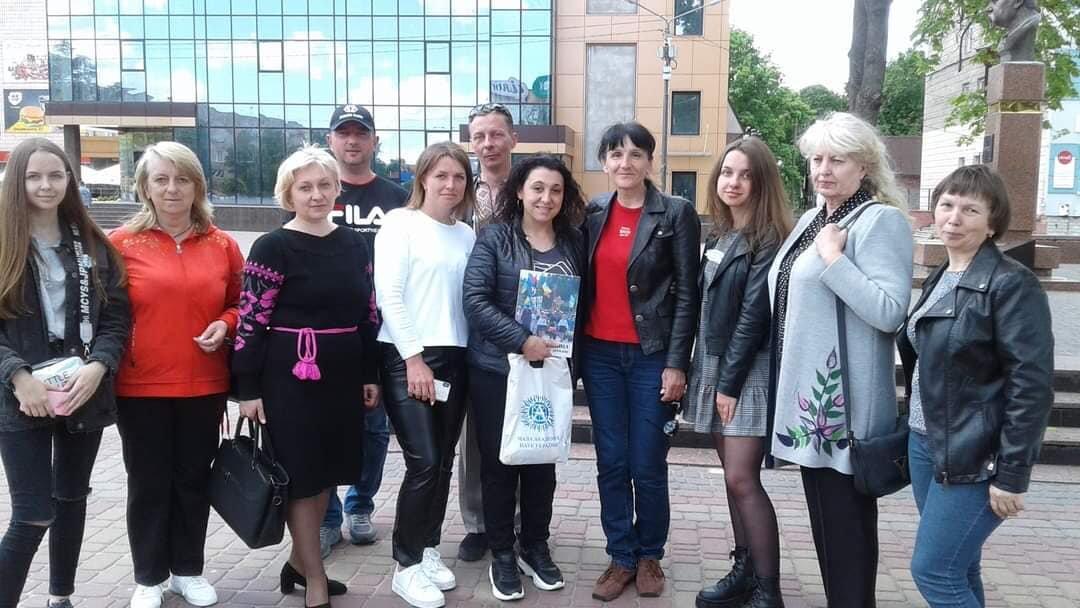 У Костополі волонтери збирали кошти на лікування школярки, фото-1