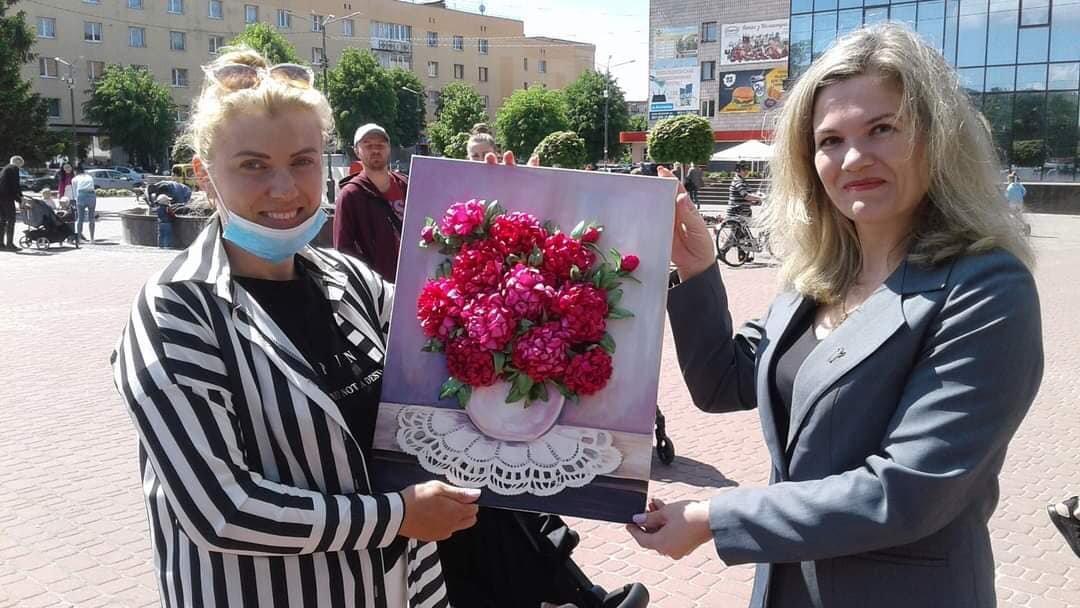 У Костополі волонтери збирали кошти на лікування школярки, фото-4
