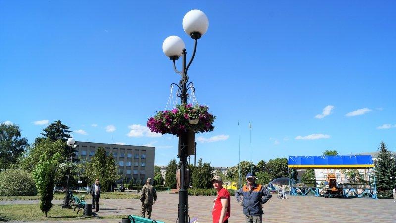 До дня міста Радивилів прикрасили квітами (ФОТО), фото-8