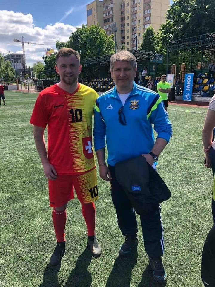Заступник міського голови Сарн став кращим гравцем Чемпіонату України з футболу, фото-3