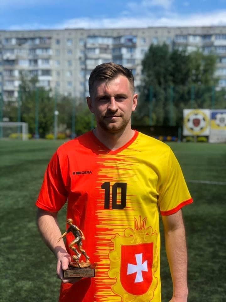 Заступник міського голови Сарн став кращим гравцем Чемпіонату України з футболу, фото-1